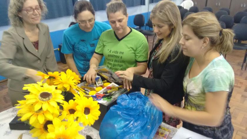 """Foto de EDUCAÇÃO. Projeto da UFSM trabalha com alunos a proposta de """"consumo consciente e meio ambiente"""""""