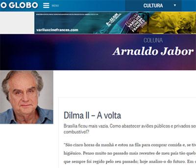 """Foto de UMA OPINIÃO. """"Jabor é o exemplo de podridão do jornalismo parcial e seletivo da Mídia brasileira"""""""