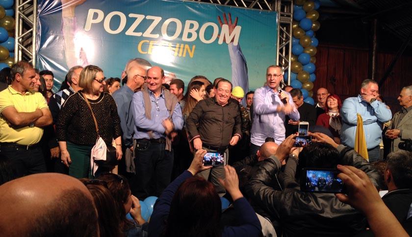 Foto de ELEIÇÕES 2016. Oficializada dobradinha Pozzobom e Cechin. E, em duas alianças, 53 candidatos à Câmara