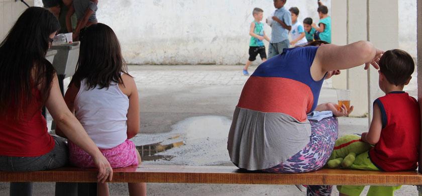 """Foto de CIDADANIA. Projeto """"Inspira"""" leva filhos de detentas ao Presídio Regional. Foi uma sexta-feira bem especial"""