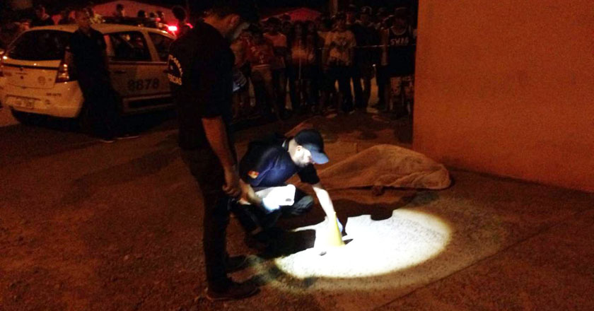 Foto de EXTRA. Adolescente executada na Nova Santa Marta