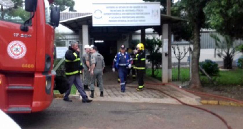 Foto de REBELIÃO. Mortos e feridos em presídio em município do norte do RS. Quatro mortes confirmadas; 15 feridos