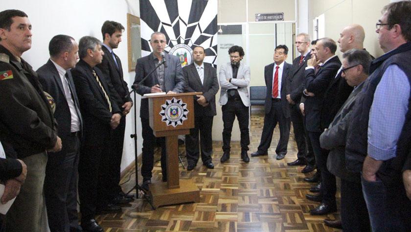 Foto de SEGURANÇA. Polícia Civil abre o Núcleo de Mediação de Conflitos: solução de impasses antes do problema