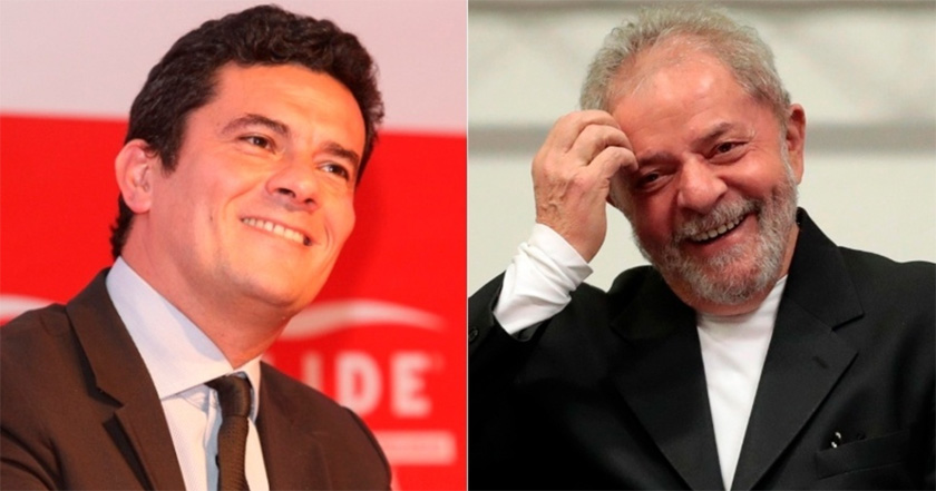 Foto de LAVA JATO. Moro condena ex-Presidente Lula à prisão
