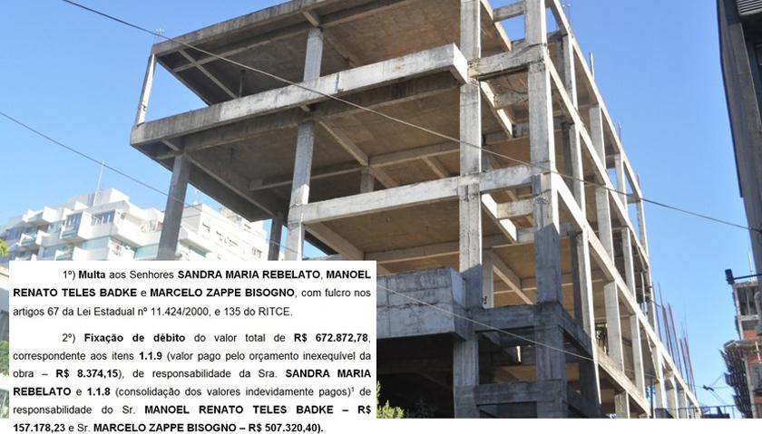 Foto de EM 1ª MÃO. MP de Contas vê irregularidades na obra da Câmara e cobra troco graúdo de 3 ex-presidentes
