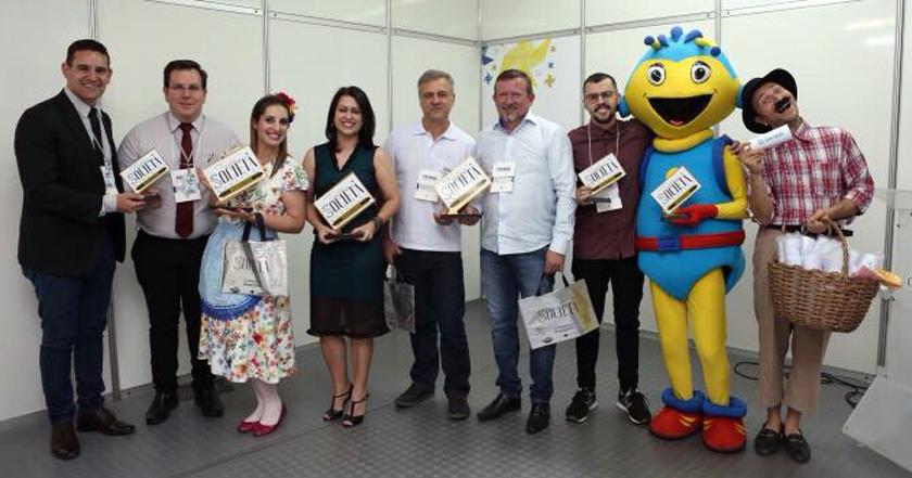 """Foto de FEISMA 2017. Multifeira encerra e os destaques são reconhecidos e premiados em promoção da """"Societá"""""""