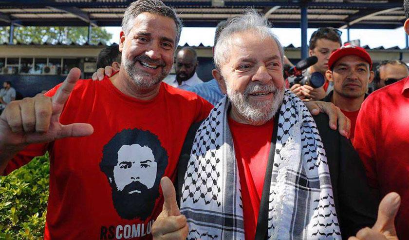 Foto de SOBE/DESCE. Por conta da visita de Lula, veja como se saíram Pimenta, Burmann, Admar, Vicente Bisogno…