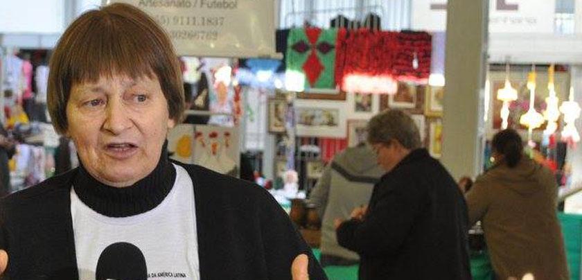 """Foto de MULHER. Irmã Lourdes Dill é uma das 8 que recebe, da Câmara dos Deputados, a """"Medalha Mietta Santiago"""""""
