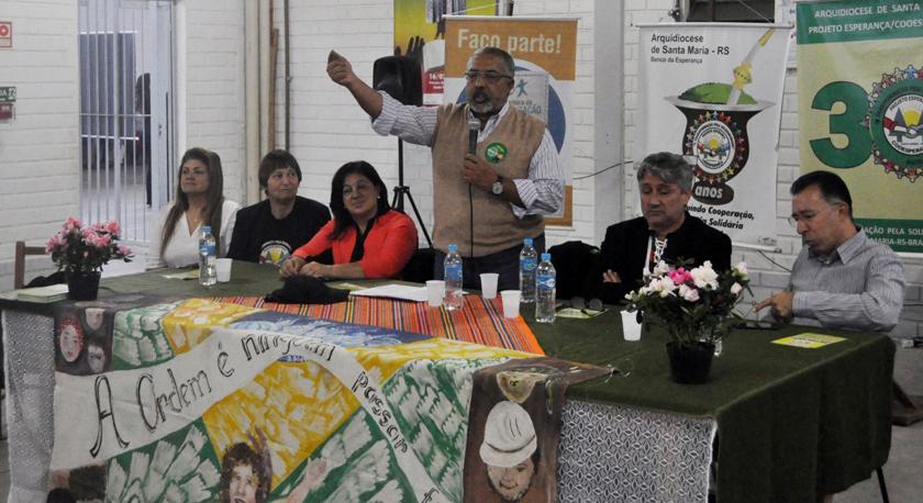 """Foto de ECONOMIA SOLIDÁRIA. Irmã Lourdes Dill denuncia a """"arbitrariedade de fiscalização contra os produtores"""""""