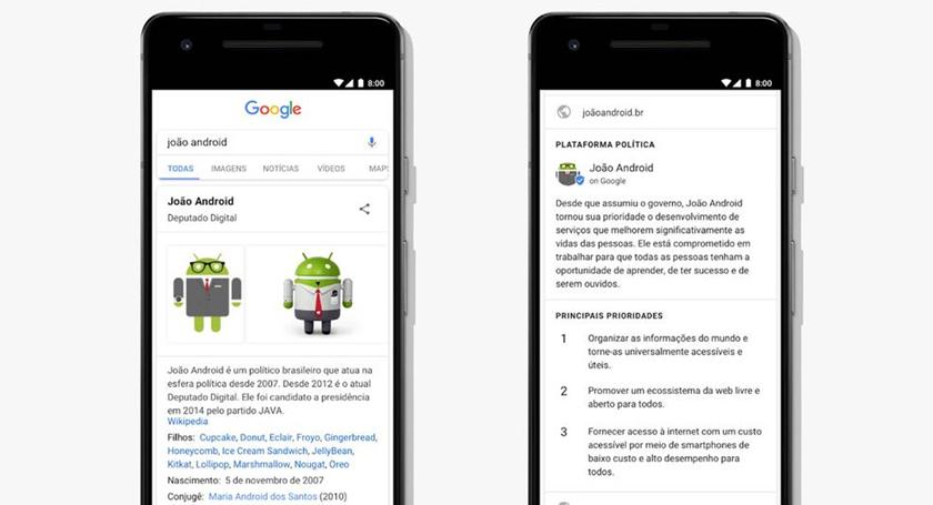 Foto de ELEIÇÕES. Acordo entre TSE e Google exporá dados de 7 mil candidatos a deputado, senador e Presidente