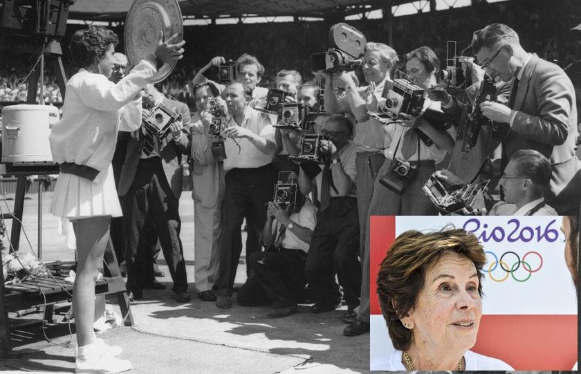 """Foto de MEMÓRIA. Esporte perde a """"Bailarina do Tênis"""", um fenômeno brasileiro: Maria Esther Bueno, aos 78 anos"""