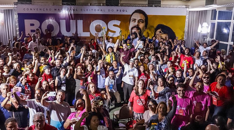 Foto de ELEIÇÕES 2018. PSOL confirma Guilherme Boulos como candidato à Presidência da República