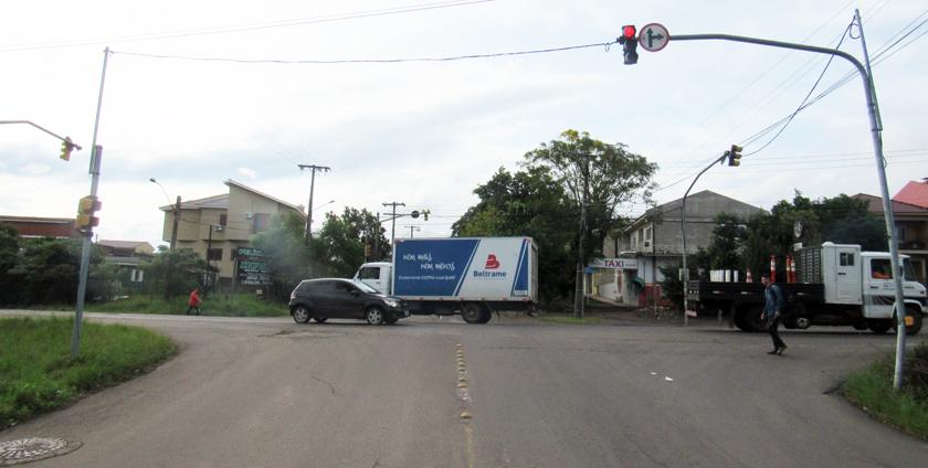 TRAVESSIA URBANA. Obra bloqueará acesso à 287 pela Vasco da Cunha. Até o semáforo será transferido - travessia-urbana