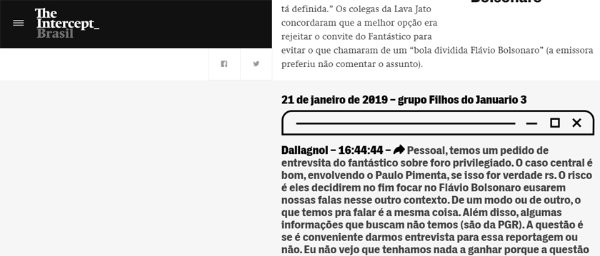 Foto de ARTIGO. Paulo Pimenta, as mensagens vazadas de Deltan, a Lava Jato e os grupos de mídia Globo e RBS