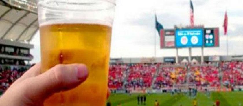 Foto de ARTIGO. Giuseppe Riesgo e o consumo de bebidas alcoólicas nos estádios gaúchos: tema superexplosivo