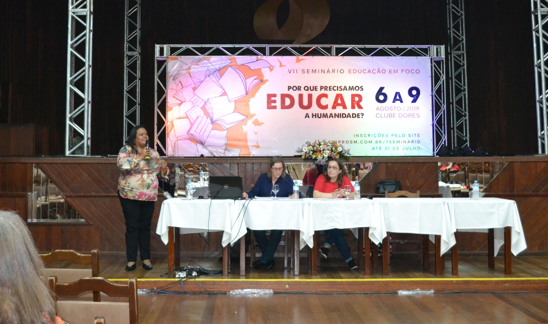 Foto de EDUCAÇÃO. Espetáculo encerrará o 7º Seminário Educação em Foco, nesta sexta (9), no Clube Dores
