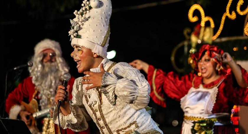 CULTURA. Projeto leva espetáculos ao Parklet e ao Calçadão, nos finais de semana até 22 de dezembro - liciane-cantoria-de-natal