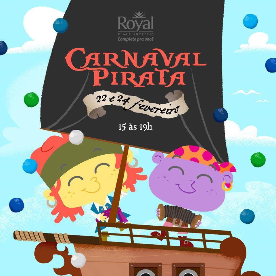 CIDADE. Carnaval no Royal tem navio pirata - Barco-Pirata-Royal