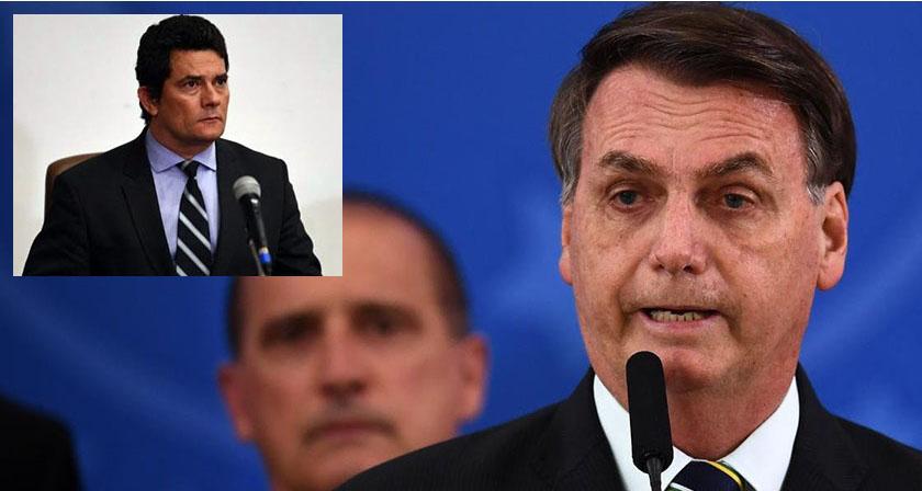 Foto de PAÍS. Moro deixa o governo atirando e Bolsonaro responde na mesma moeda, contra seu ex-ministro