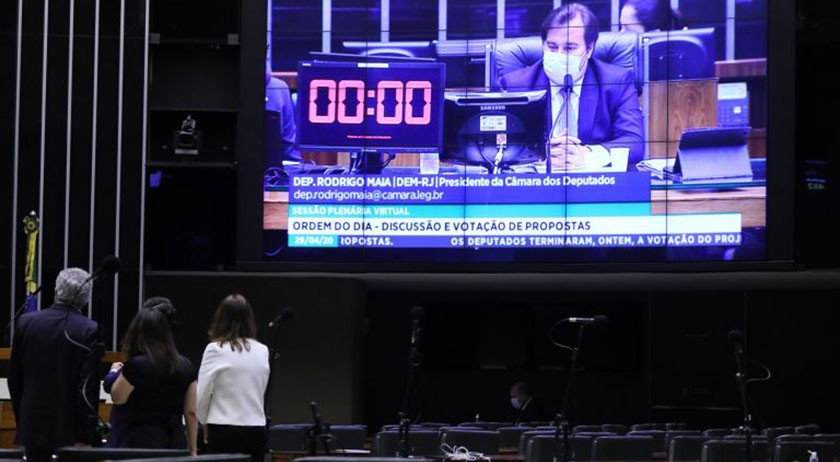 """Foto de AGENDA. Semana pode iniciar com votação da """"PEC do Orçamento de Guerra"""", na Câmara dos Deputados"""