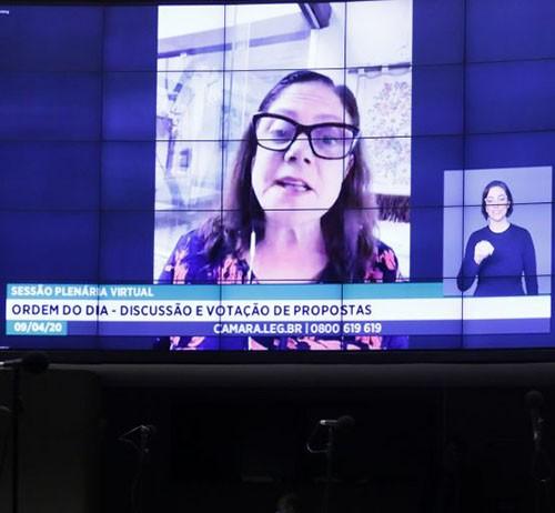 Foto de ELEIÇÕES. Deputada Federal apresenta projeto que permite a realização de convenções partidárias online
