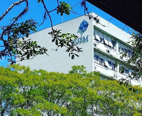 Foto de COVID-19. UFSM convida servidores para atuarem em força-tarefa no Hospital Universitário (HUSM)