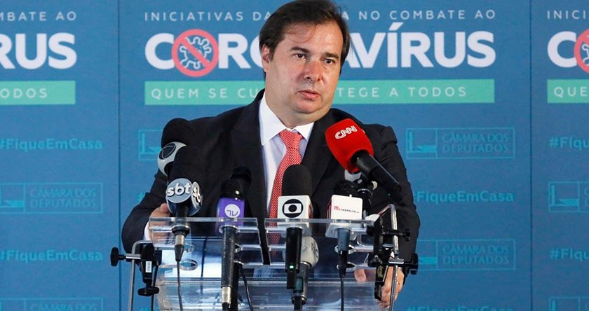 Foto de ELEIÇÕES 2020. Adiamento sem a prorrogação de mandatos é quase unanimidade, afirma Rodrigo Maia