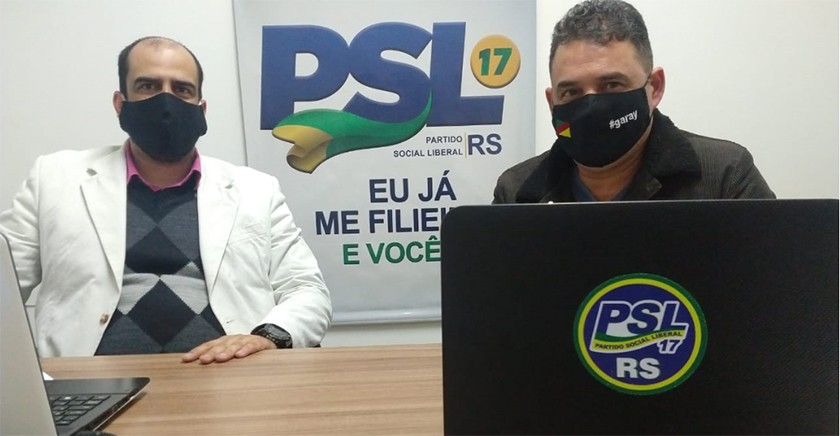 Foto de PARTIDOS. Irigaray deixa a presidência do PSL/SM