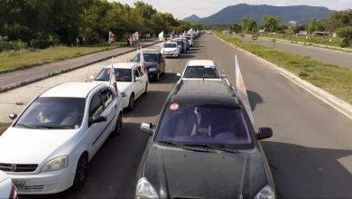 Foto de ELEIÇÕES 2020. 700 carros na carreata de Bisogno