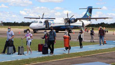 Foto de TRANSPORTE. Passados oito meses, Santa Maria retoma voos comerciais para a capital do Estado