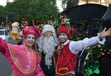 Foto de VIVA O NATAL. Banda de duendes do Papai Noel, Jingle Band's abre programação nesta sexta-feira