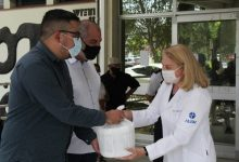 Foto de COVID-19. Prefeitura entrega mais de 2,1 mil doses de vacina para 15 instituições de saúde e de idosos
