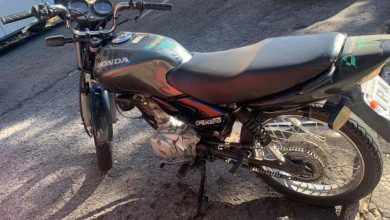 Foto de POLÍCIA. Brigada Militar recupera moto furtada