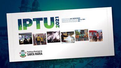Foto de CIDADE. Prefeitura reforça o último prazo para pagamento da cota única do IPTU 2021: dia 20