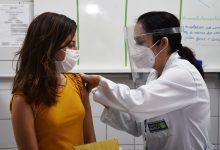 Foto de SAÚDE. 16 integrantes do Laboratório de Diagnóstico Molecular da UFN são imunizados contra covid-19
