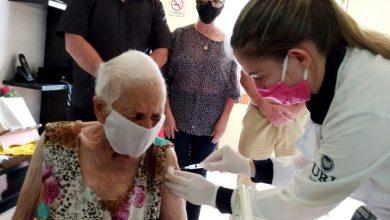 Foto de SANTIAGO. Secretaria de Saúde garante vacinação de 100% dos moradores do Asilo Santa Isabel