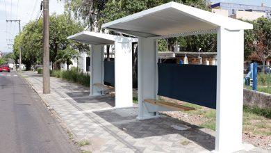 Foto de CIDADE. Prefeitura instala abrigos de ônibus nas vias centrais. Dos 38, quase metade na Presidente