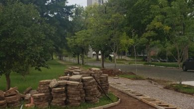 Foto de UFSM. Campus recebe obras de acessibilidade