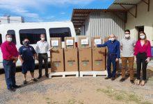 Foto de CACHOEIRA DO SUL. Município recebe cinco novos respiradores enviados pelo governo do Estado