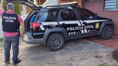 Foto de POLÍCIA. Rapaz de 21 anos é preso preventivamente por tentativa de homicídio, no Bairro Camobi