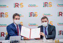 Foto de ESTADO. Assembleia e Executivo assinam ofício pedindo prioridade na vacinação de professores