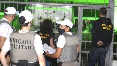 """Foto de CIDADE. Semana movimentada para a fiscalização Municipal. Foram mais de 170 vistorias """"anticovid"""""""